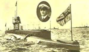 Submarine E9 (Max Horton)