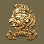Cap badge of the Artists Rifles