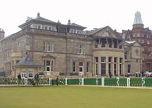 Club House at the Royal and Ancient Golf Club of St Andrews