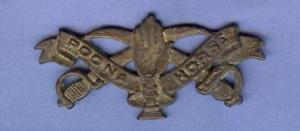 Poona Horse cap badge