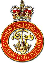 Cap badge of the Princess Patricia's Canadian Light Infantry