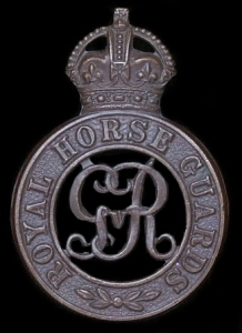 Cap badge of the Royal Horse Guards