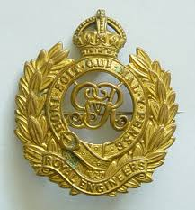 Cap badge of the Canadian Engineers