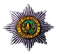 Cap badge of the Cheshire Regiment