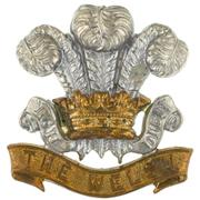 Cap badge of the Welsh Regiment