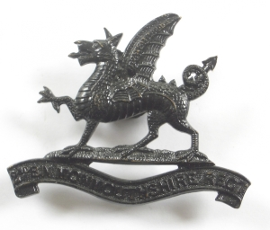 Cap badge of the Monmouthshire Regiment