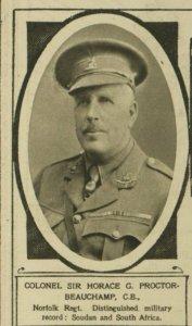 Horace George Proctor-Beauchamp