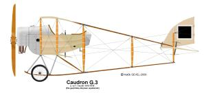 Caudron G-3 side view