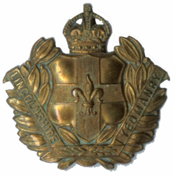Cap badge of the Lincolnshire Yeomanry