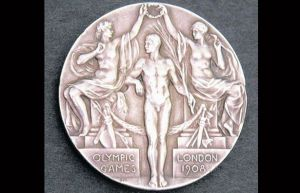 1908 Olympic Silver Medal