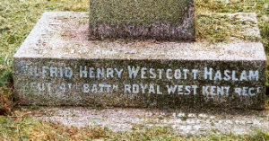 Wilfrid Henry Westcott Haslam