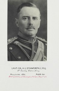 H G Stainforth
