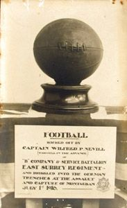 Capt Nevill's football