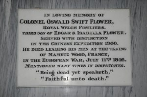 Oswald Swift Flower