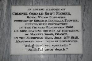 Oswald Swift Flower