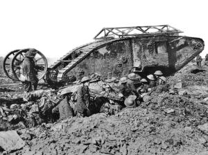 Mark 1 tank