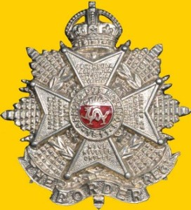 Cap badge of the Border Regiment