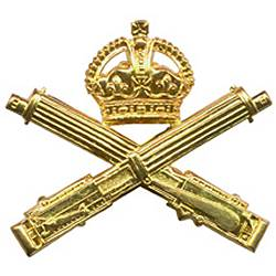 Cap badge of the MGC