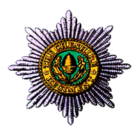 Cap badge of the Cheshire Regiment