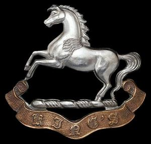 Cap badge of the Liverpool Regiment