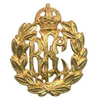 Cap badge of the Royal Flying Corps