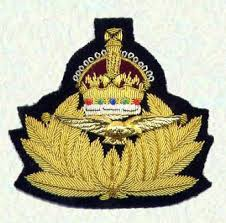 Cap badge of the Royal Naval Air Service