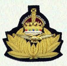 Cap badge of the Royal Naval Air Service